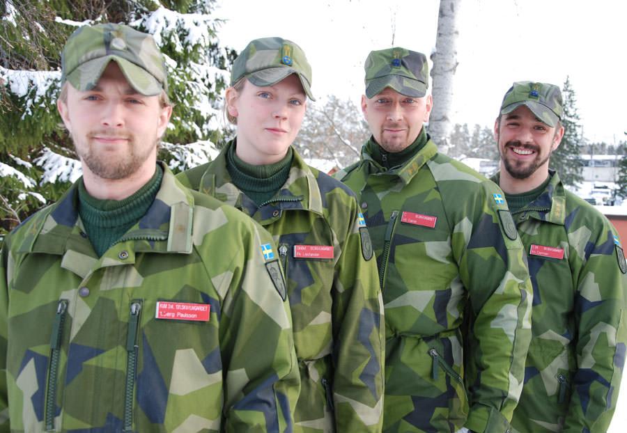 Iskall övning med mervärde Försvarsmakten
