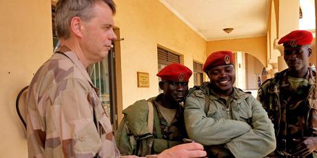Ugandiska soldater till somalia 2