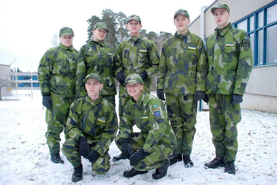 Första dagen i lumpen Försvarsmakten