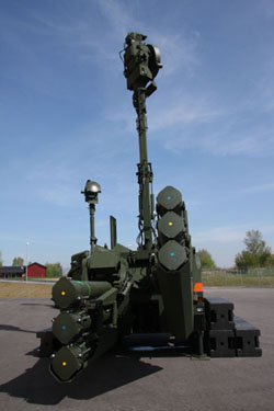 Fire Unit 23, also known as Bamse, has now been delivered to the Swedish Armed Forces.