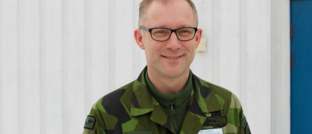 Cold Response 2016. Per Olsson, chef 1 a helikopterskvadron, Hkpflj Luleå