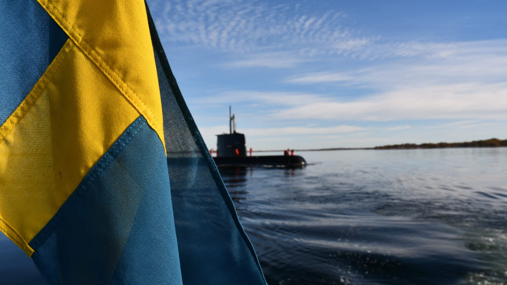 Finding a Swedish submarine is close to mission impossible