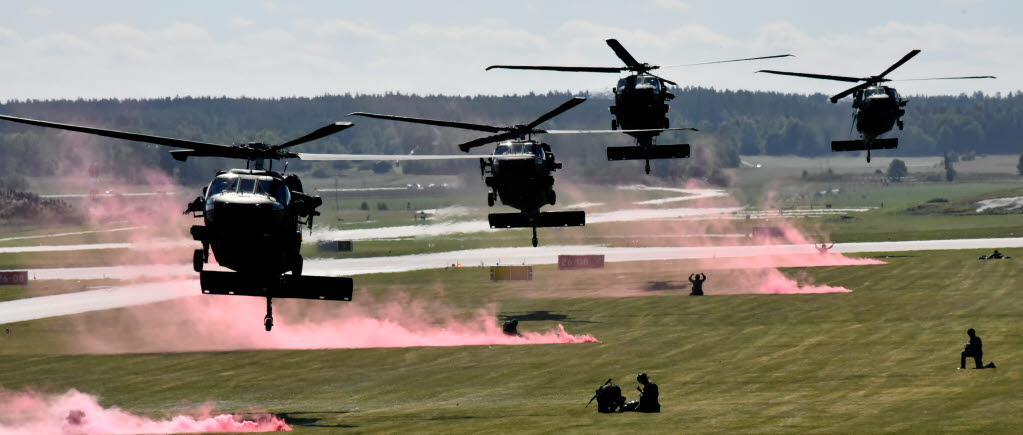 The Swedish Air Force celebrates its 90th anniversary with record attendance