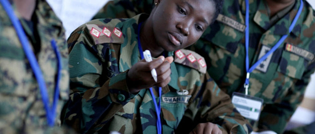 NCGM supports gender training of African officers in Serbia