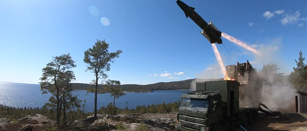 The Swedish Armed Forces protects our coastline