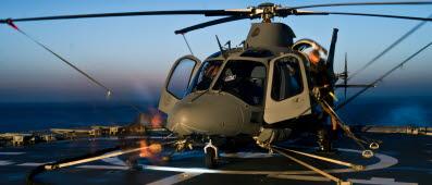 Darfor koptes just den har helikoptertypen