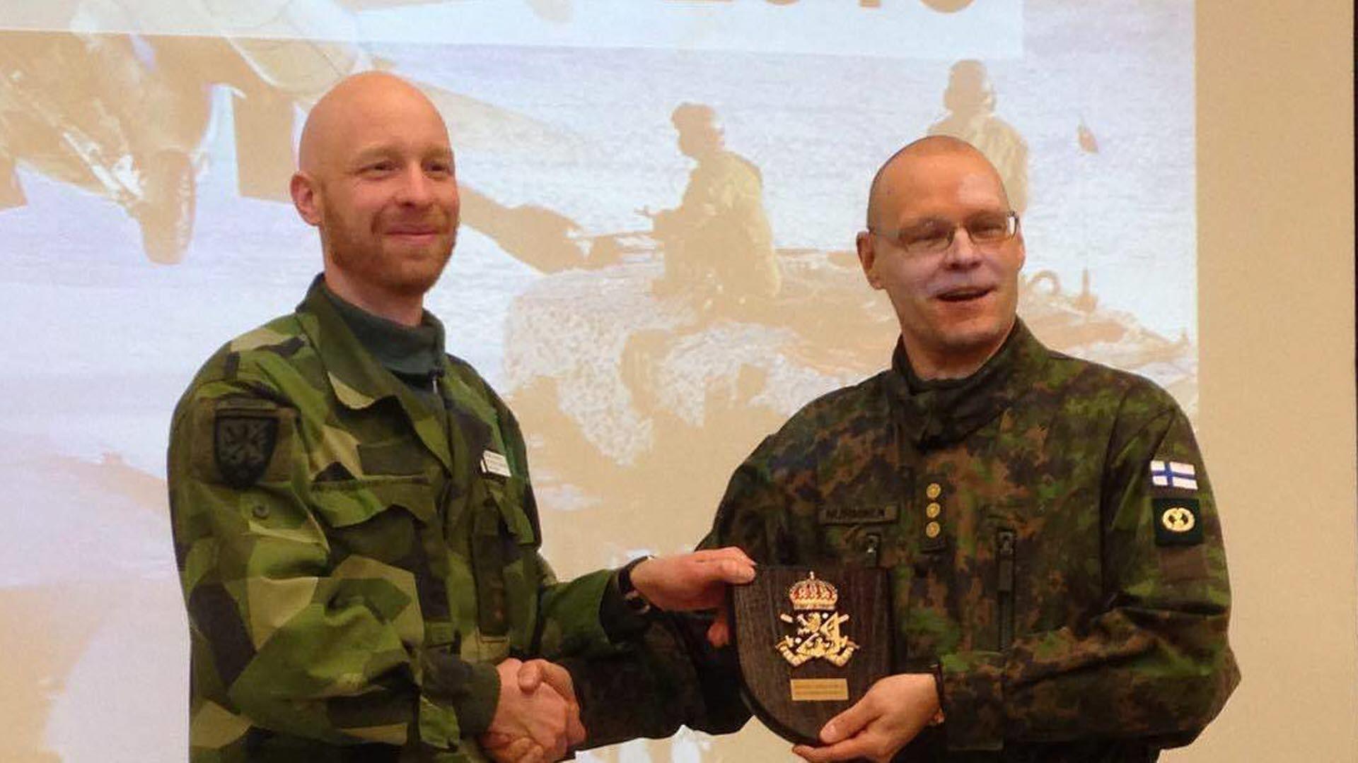 Svensk finsk medaljstrid