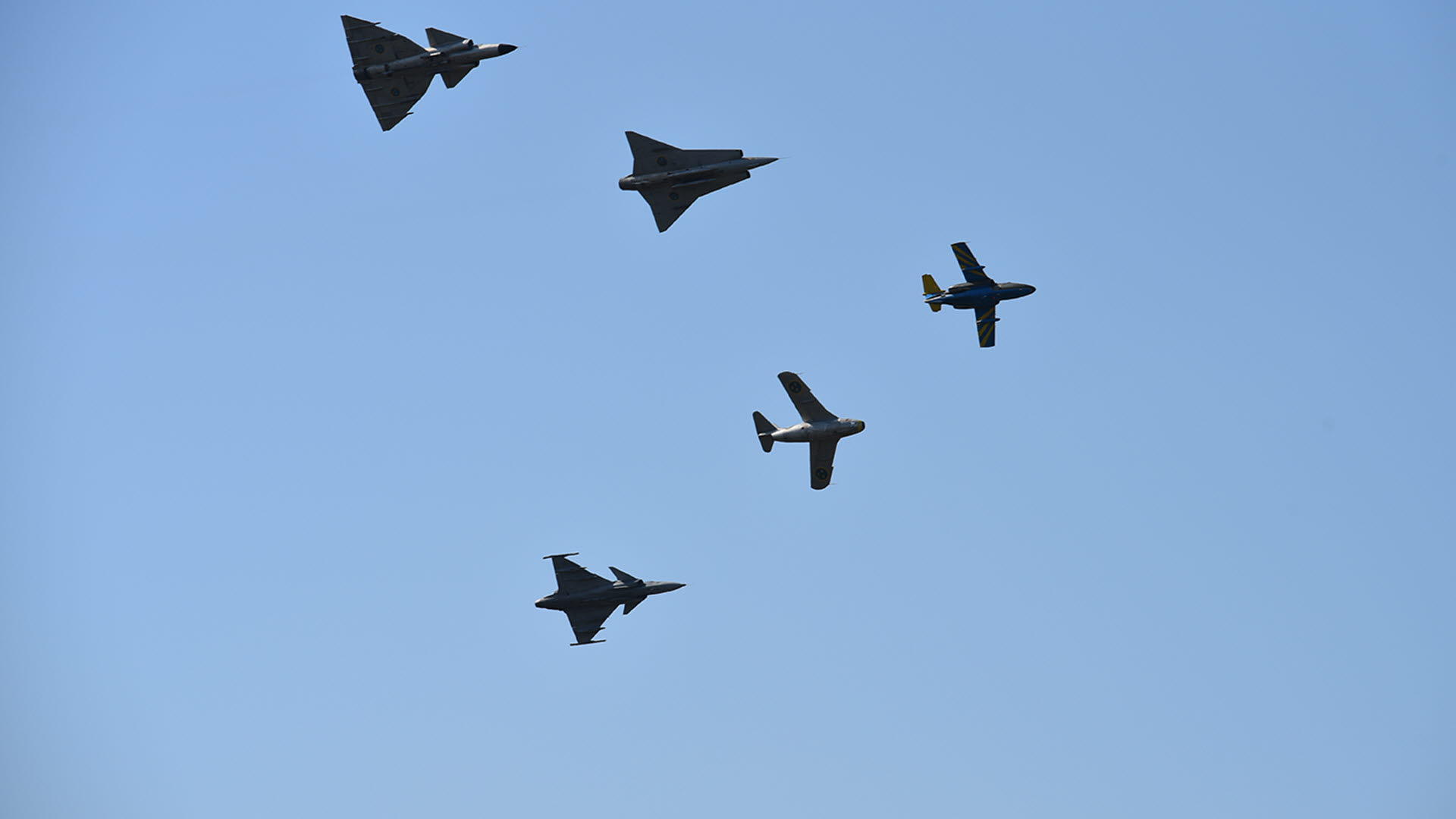 Air Show - Swedish Armed Forces