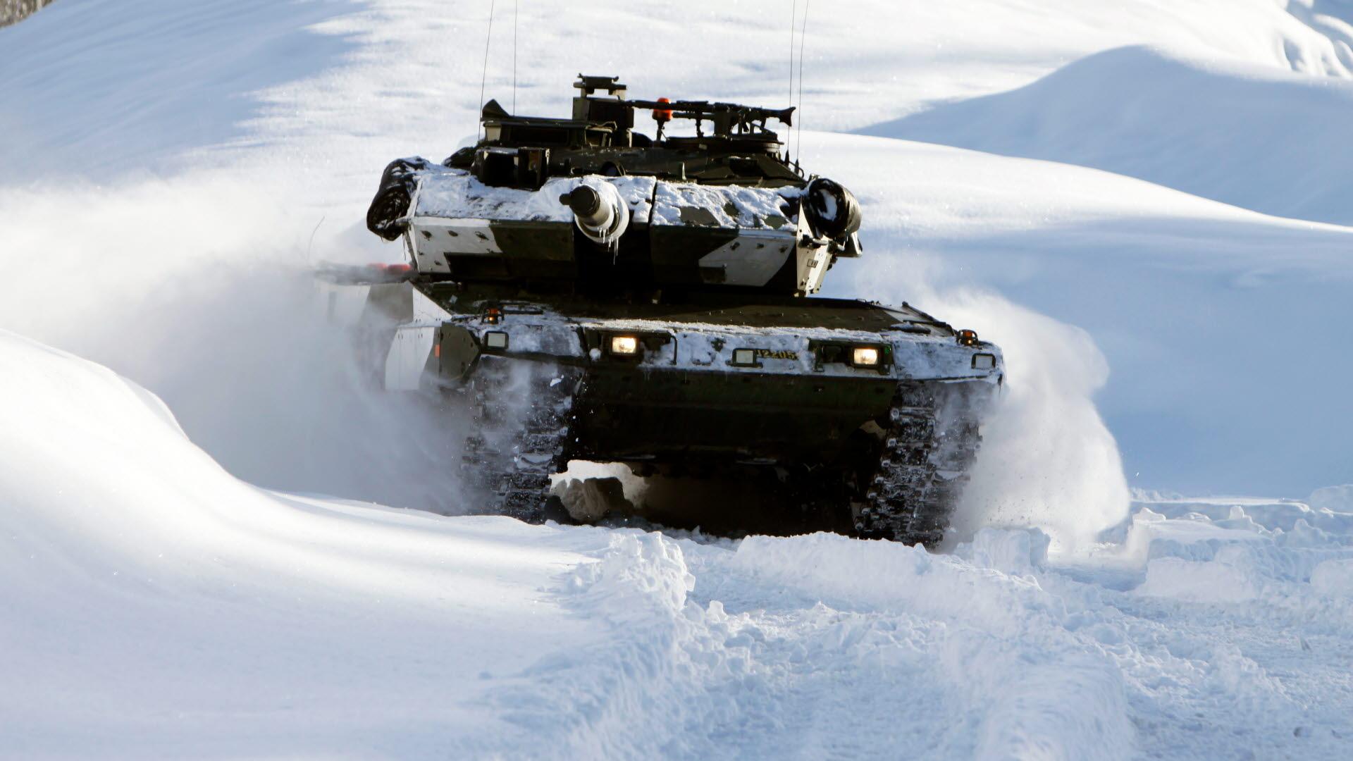 Bildresultat för stridsvagn vinter