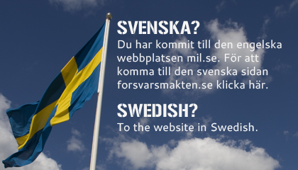 Till svenska sidan, to the website in Swedish